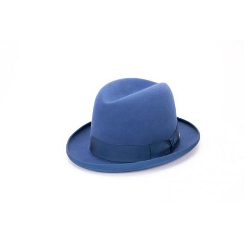 Sombrero Billy Hambourg de Fieltro Azul Hombre sombrerería Fernández y Roche
