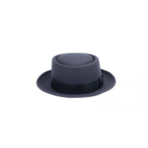 Sombrero Gary Fedora Color Green Cinta Carbón sombrerería Fernández y Roche