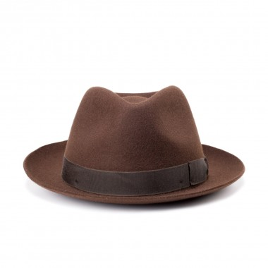 Can brown Trilby style wool...