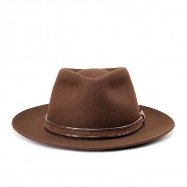 Dylan Brown Wool Felt Fedora Hat. Fernández y Roche