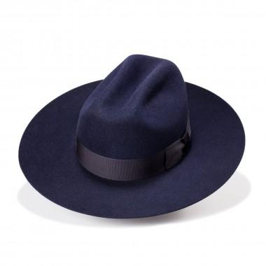 Wayne sombrero fieltro de pelo estilo Copa Tejana de color Azul Marino. Fernández y Roche