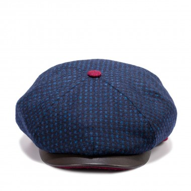 Rikku gorra de lana estilo Gatsby color Azul con mucho estilo