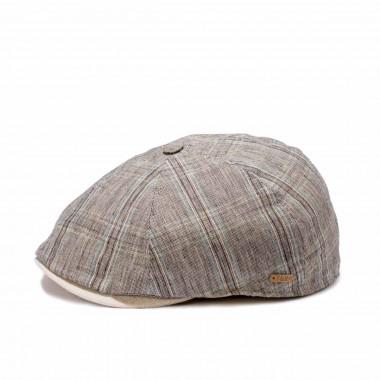 Gorra realizada en un tejido 100% lino. Fernández y Roche.