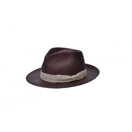 sombrero-hombre-panama-dante-paja-toquilla-chocolate-Fernandez-y-Roche