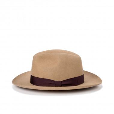 Burke fur felt hat in otter...