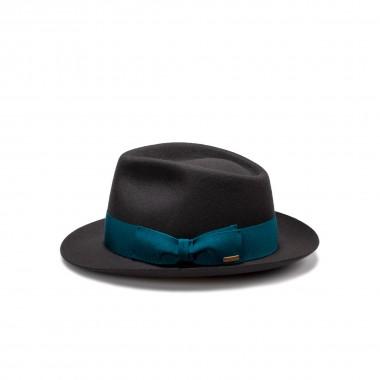 Esla merino wool hat with a...