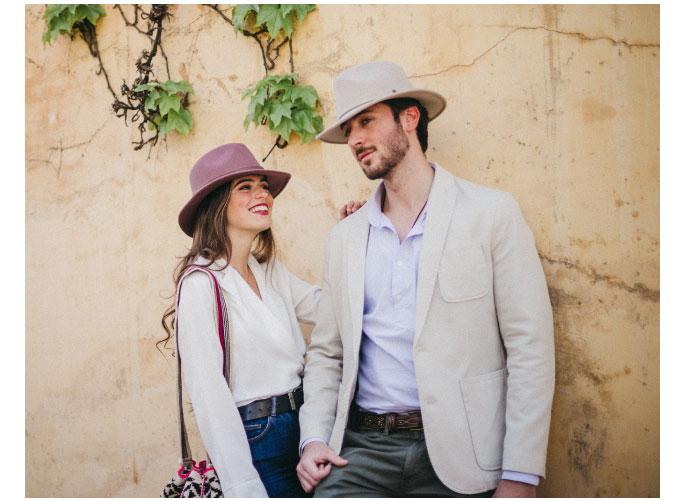 sombreros para esta primavera enrollables