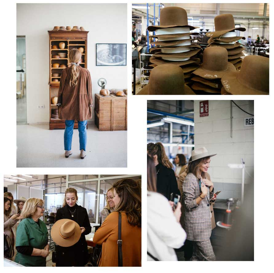 influencias fabrica sombreros