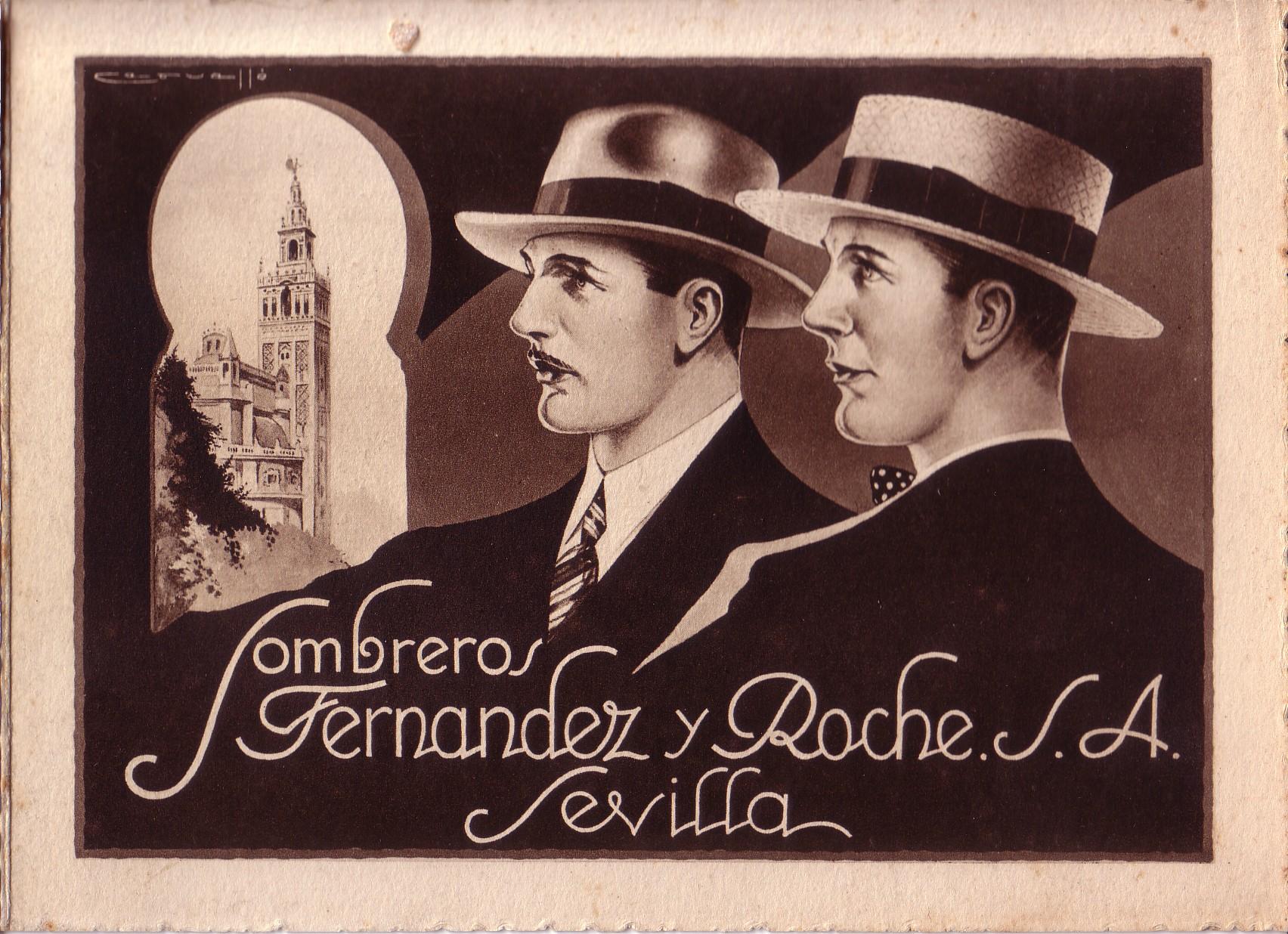 Foto antigua de Fernández y ROCHE